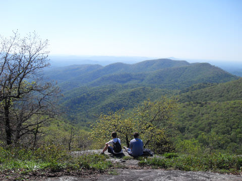 View Near Blood Mountain