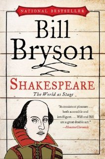 Shakespeare: The World's Stage by Bill Bryson Cover