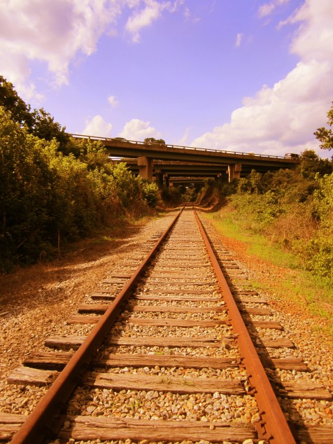 Athens Railroad Under Bypass