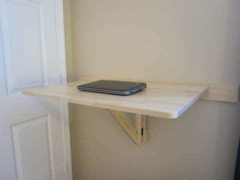 Laptop On Norbo Folding Desk