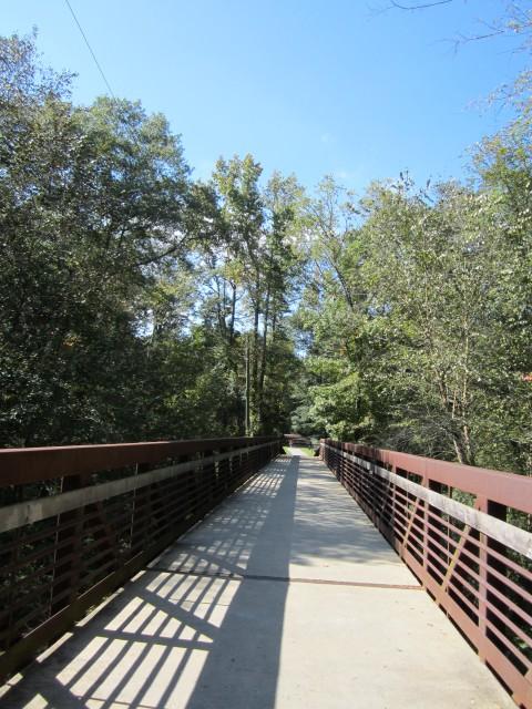 14 Bridge Into The Nature Center Park