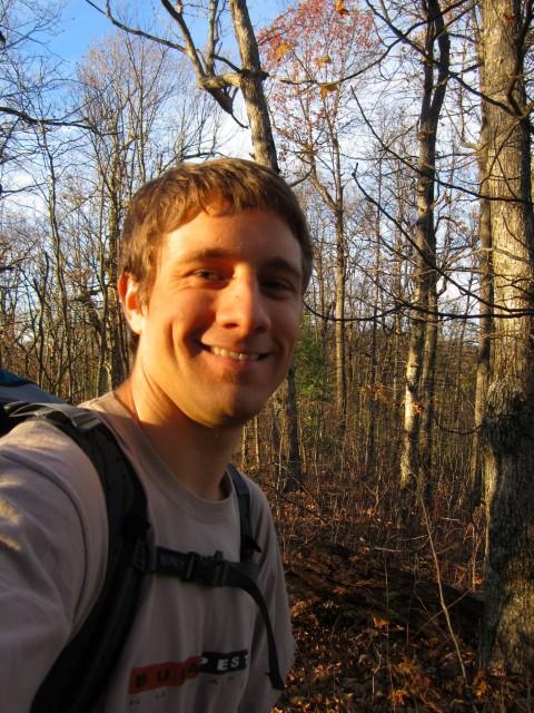 Sun Setting On Appalachian Trail