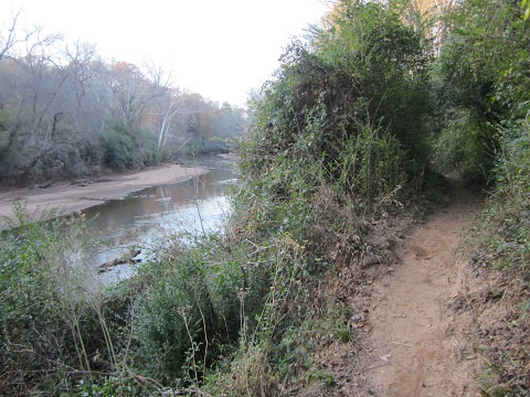 White Trail Along The Middle Oconee River