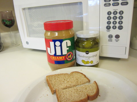 JIF + Pickles + Bread