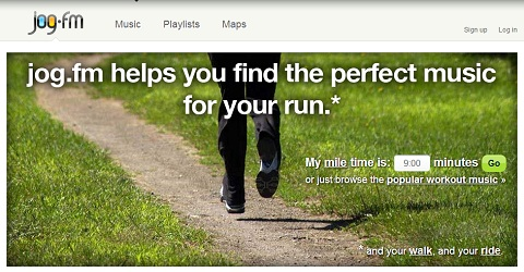 jog.fm is a great tool for running music