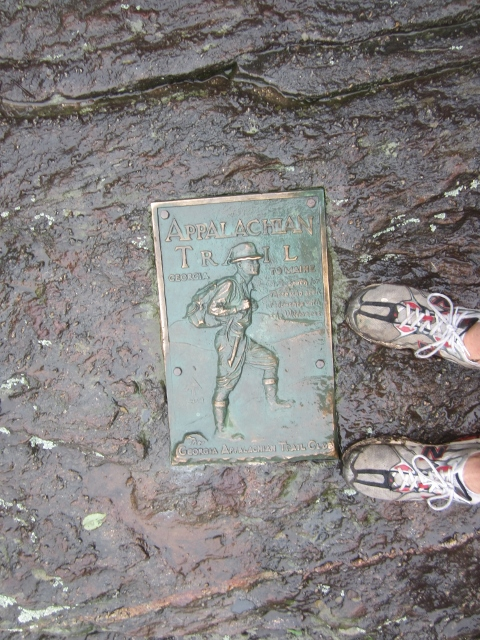 Original Appalachian Trail Southern Terminus Plaque