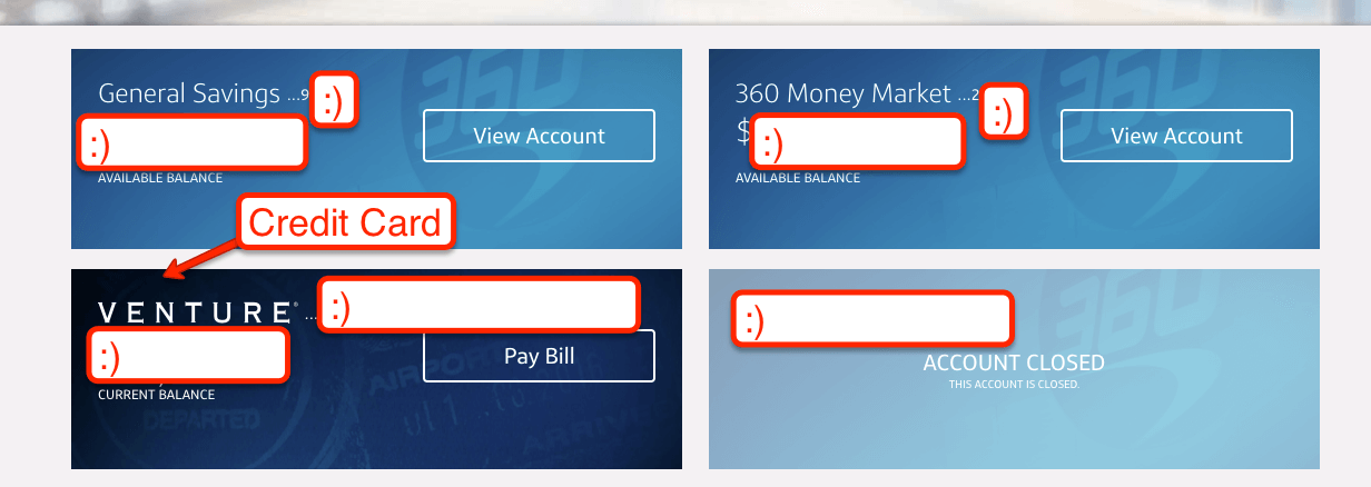 Capital One My Account