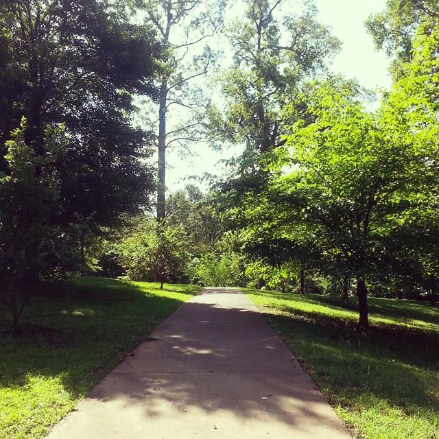Pathways in Grant Park Atlanta, GA