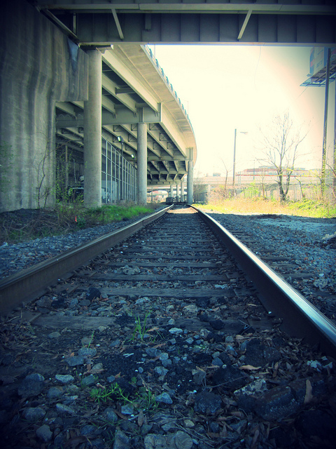 Rail Line Under Atlanta Gulch - Filter