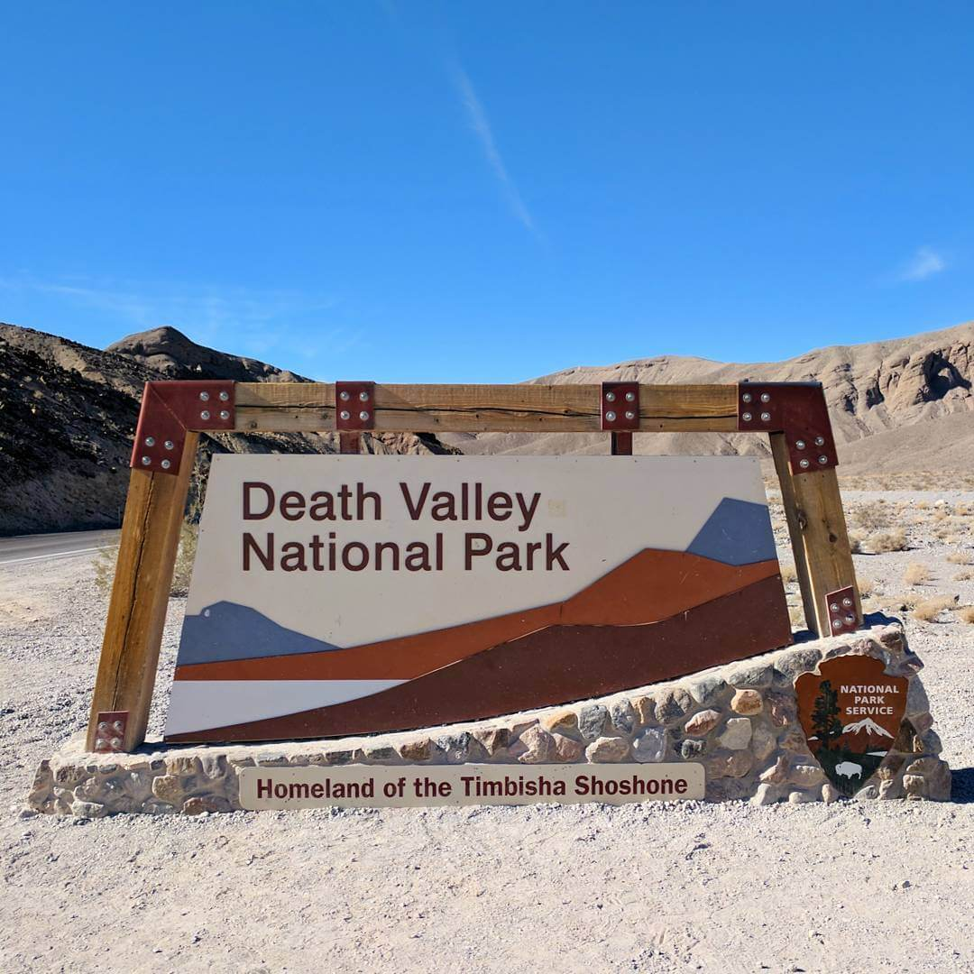 Death Valley - Welcome Sign