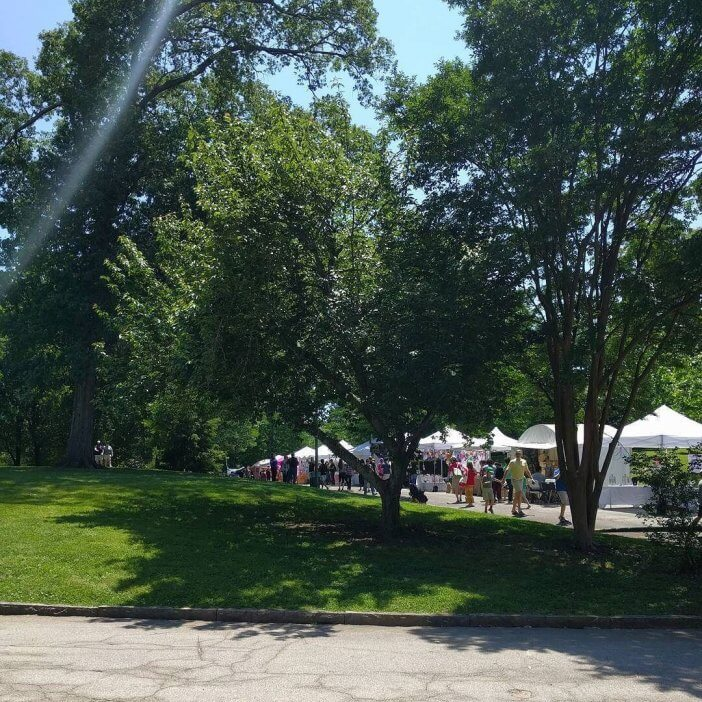 Beautiful Day for a Neighborhood Festival 1