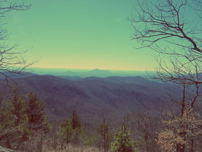 Blue Ridge from Rocky Mountain 1