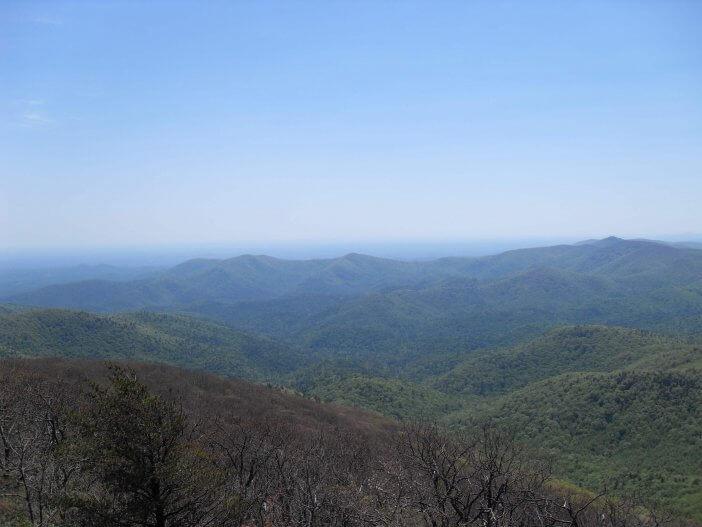 Woody Gap to Neels Gap on the Appalachian Trail 4