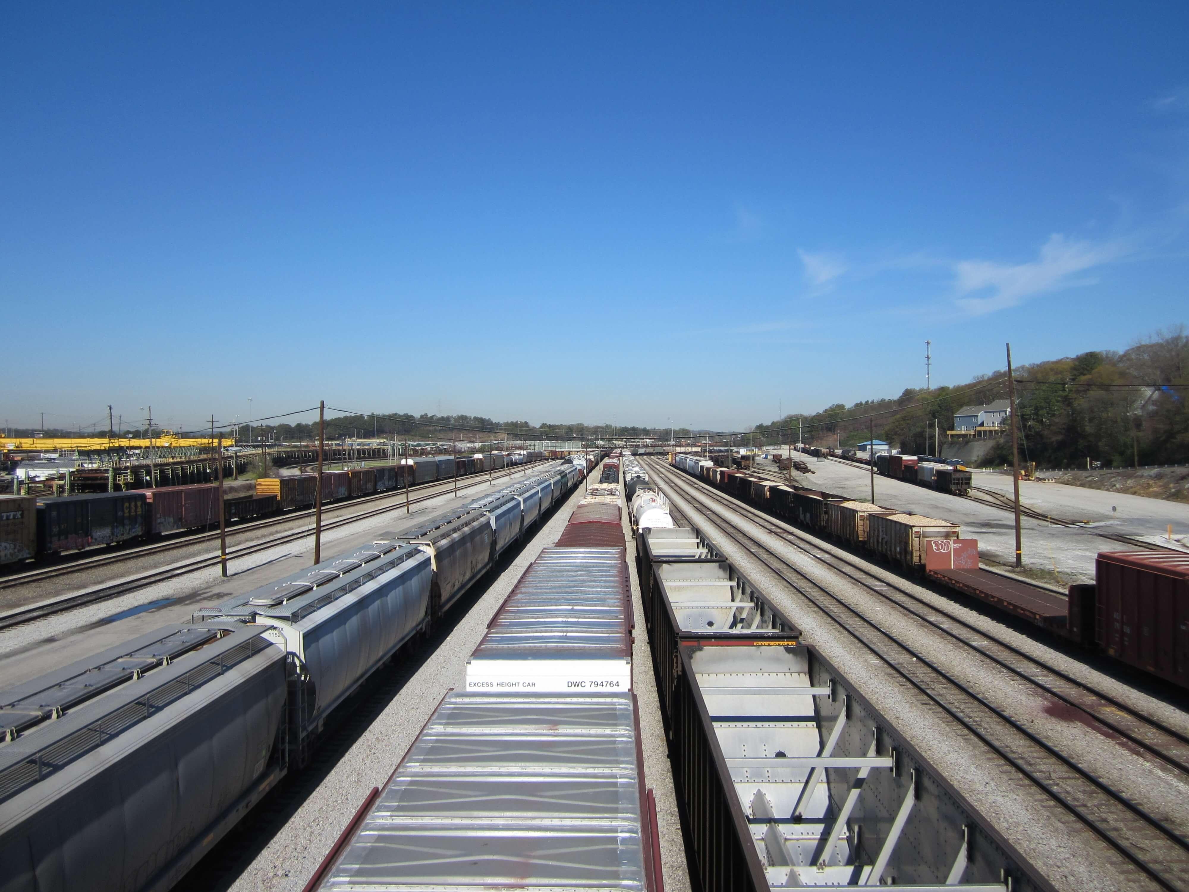 Cars On Line >> Photos of Atlanta's Downtown Railroads - Nate Shivar