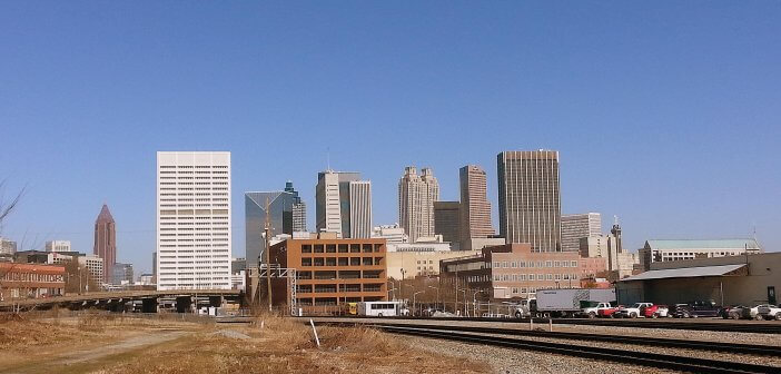 Skyline from the Gulch.