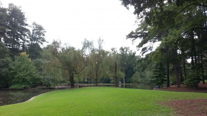 Duck Pond at Peachtree Heights Park 1