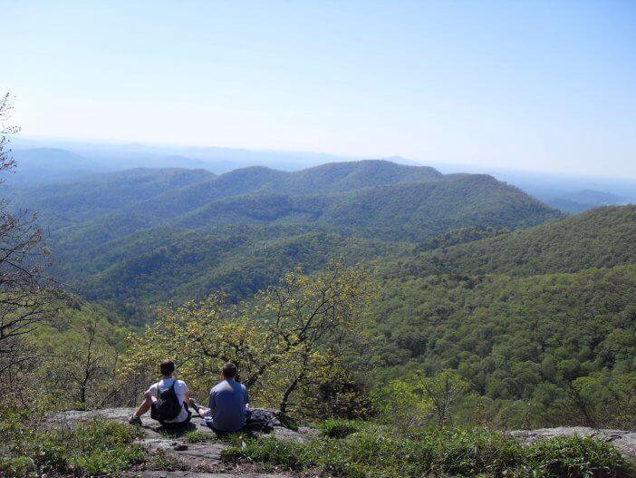 Woody Gap to Neels Gap on the Appalachian Trail 6