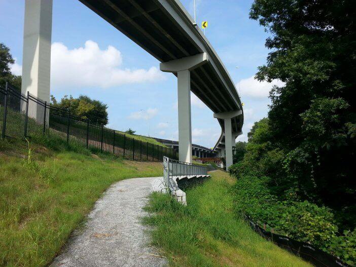 GA 400 Cycle & Pedestrian Underpass 1