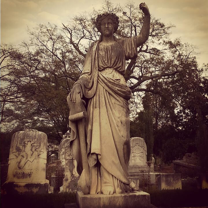 Oakland Cemetery. One of Atlanta's hidden gems.