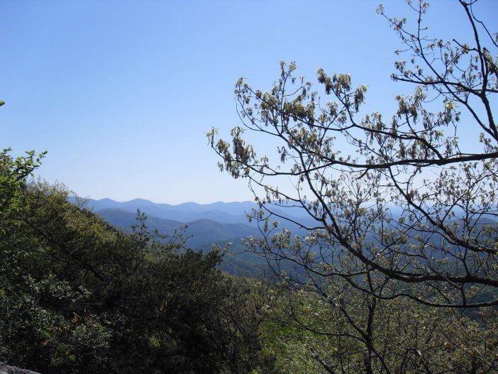 Woody Gap to Neels Gap on the Appalachian Trail 7