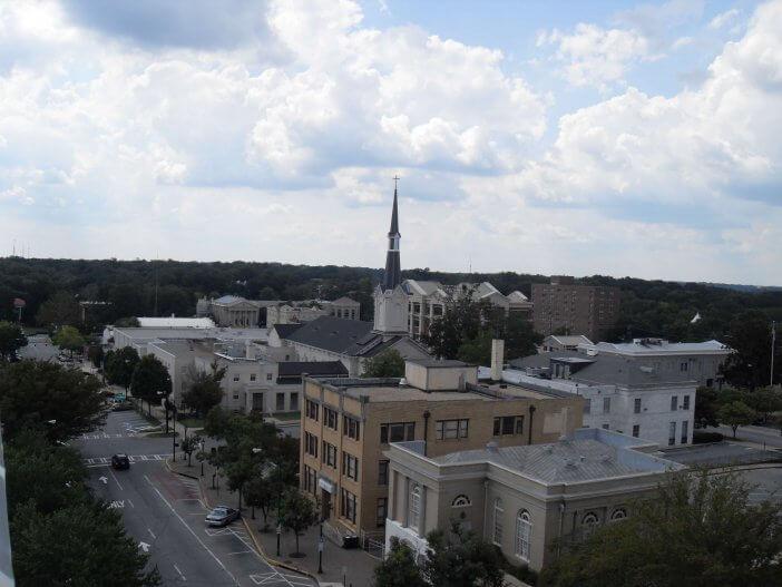 Overlooking Washington Street Athens Georgia