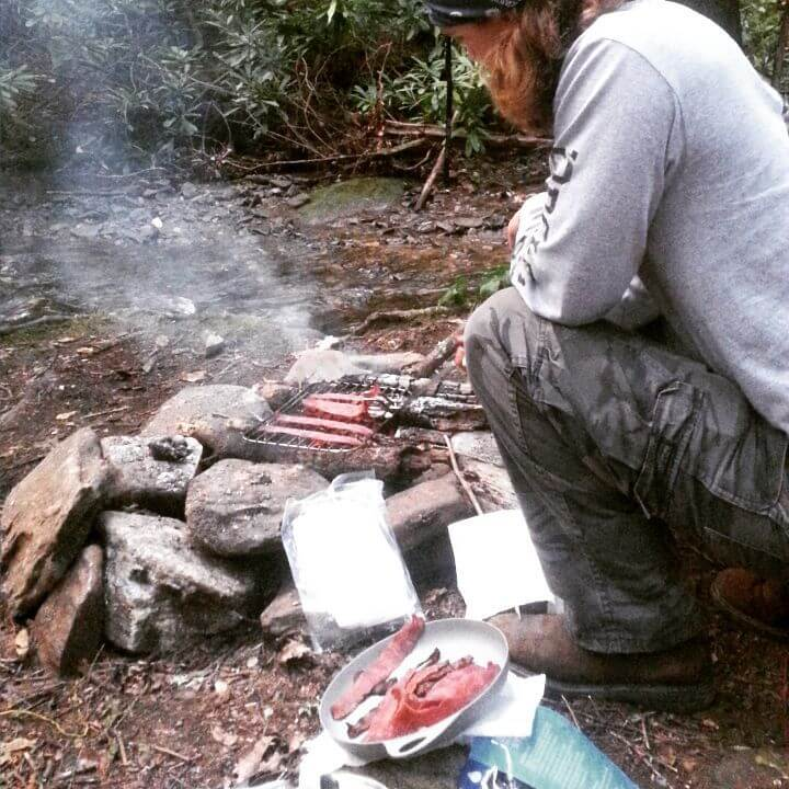 Raven Cliff Falls Grilling