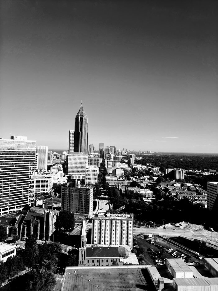 Atlanta Midtown Skyline Looking North