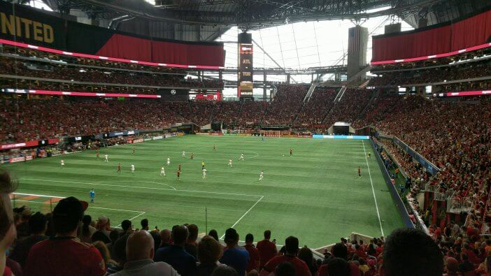 Mercedes Benz Stadium Atlanta United 08 2018