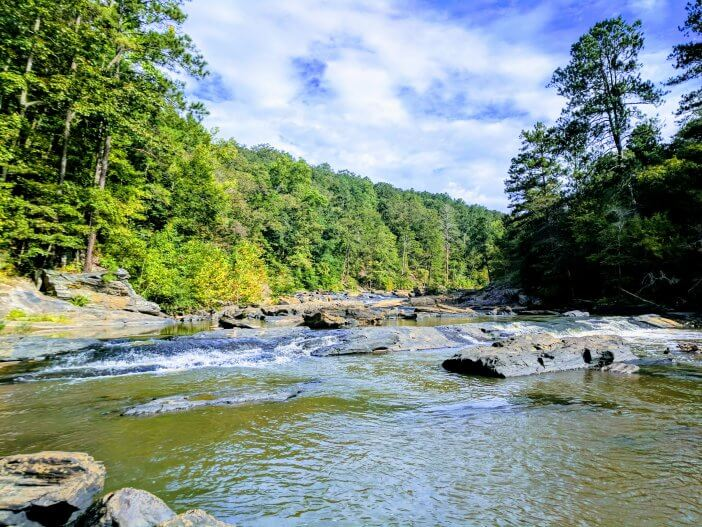 Sweetwater Creek State Park View 09 2018