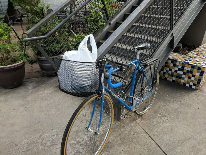 Biking with Takeout 1