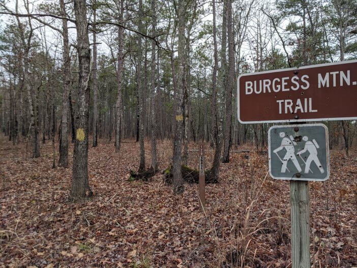 Burgess Mountain Trailhead