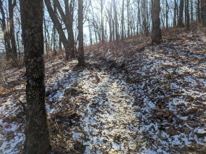 Hiking Cowrock Mountain 2