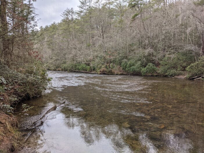 Burrells Ford on the Chattooga River