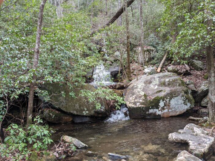 Hiking Nubbin Creek / Pinhoti Trail in Cheaha Wilderness 2