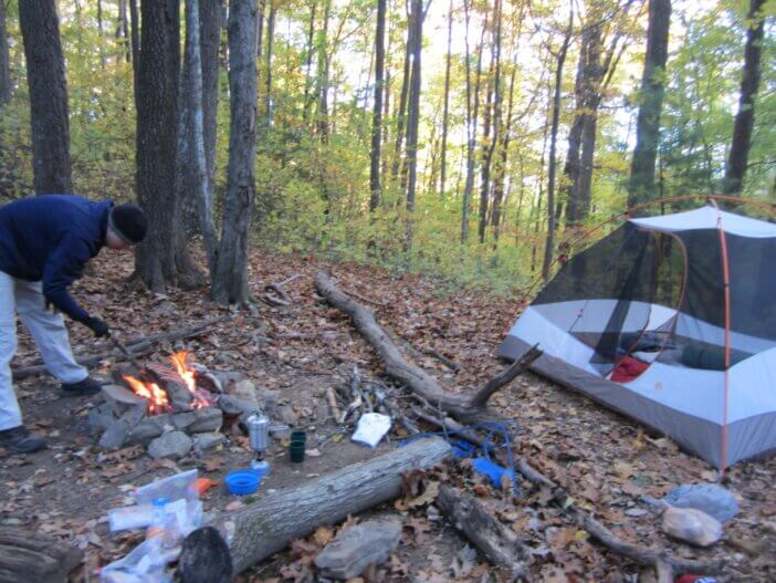 Cooper Gap to Woody Gap On The Appalachian Trail 4