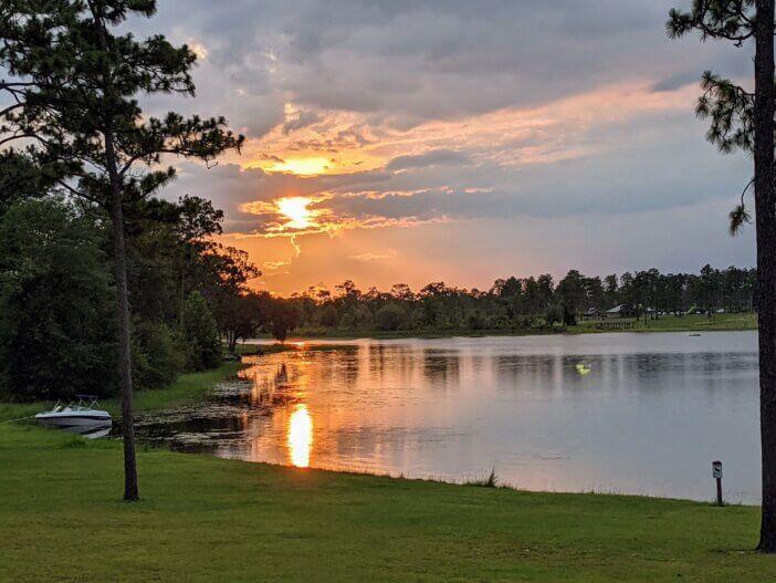 Sunset on Lake Seminole