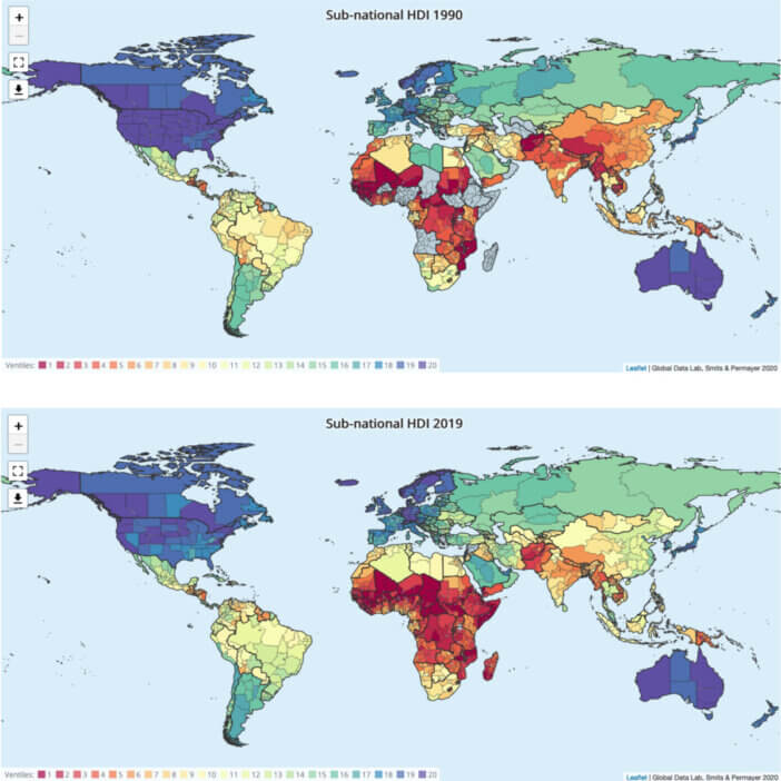 How Much The World Has Developed Since 1990 1